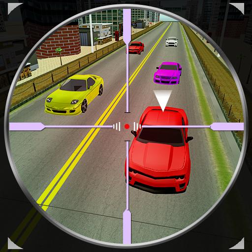 Traffic Hunter Sniper Shoot