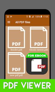 PDF Reader Viewer Ebook - náhled