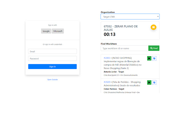 TimeTracker Devops - Target Software