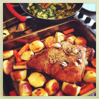 Easy Slow Roasted Leg of Lamb for Easter Recipe