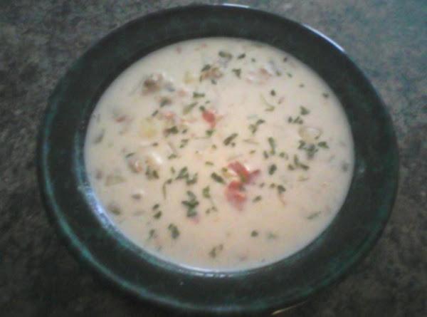 New England Clam Chowdah Recipe