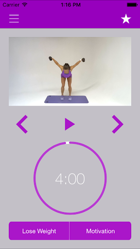 Dumbbell Exercises and Workout screenshot 10