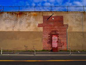 "Photo: ""Red Door"" ~ Brooklyn, NY © 2011 Skip Hunt :: kaleidoscopeofcolor.com"