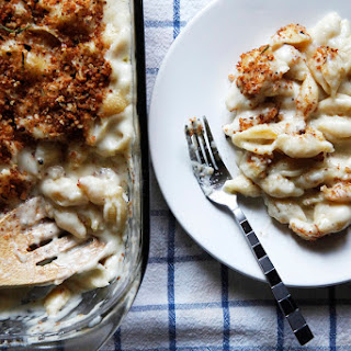 Creamy Baked White Macaroni And Cheese