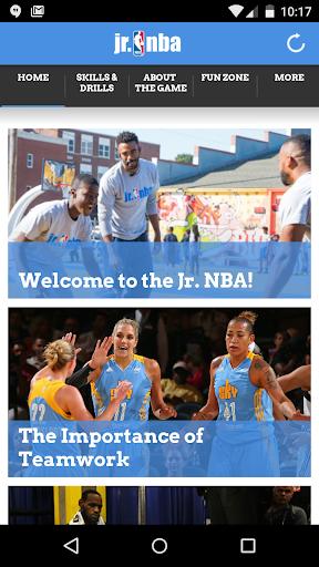 Jr. NBA App