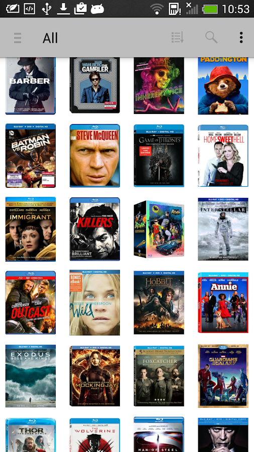 My Movies by Blu-ray.com- screenshot