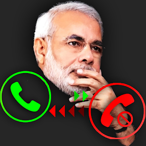 Fake Call Narendra Modi for PC and MAC