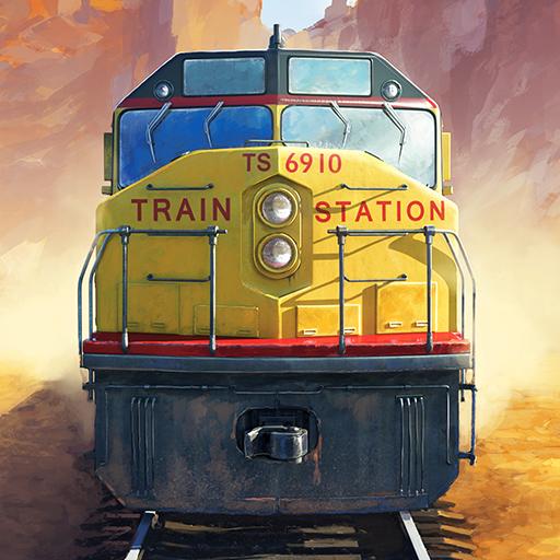 模拟のTrainStation - Game On Rails LOGO-記事Game