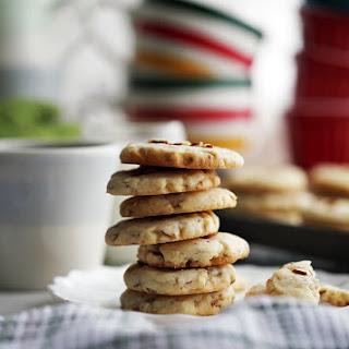 Six-Ingredient Crunchy Almond Cookies.