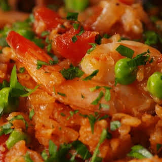 Slow Cooker Seafood Paella.