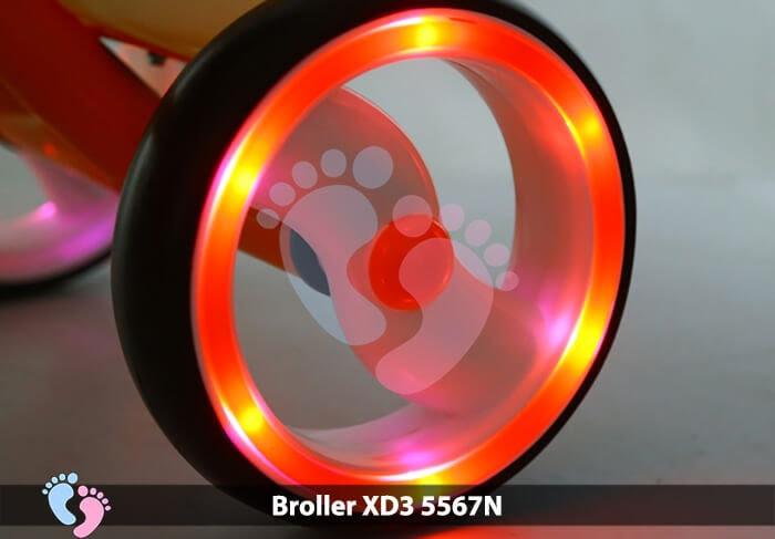 Xe đạp ba bánh Broller XD3-5567N 15