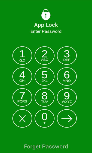App Lock Pattern - keypad