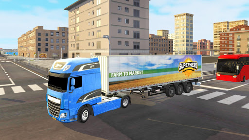 Euro Truck Driver 2018 : Truckers Wanted 1.0.7 gameplay | by HackJr.Pw 18