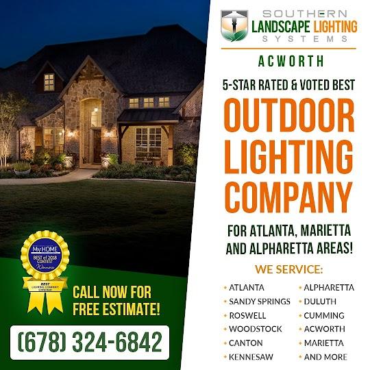 landscape lighting acworth