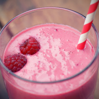 Mixed Berry Protein Smoothie.