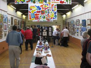 Photo: Art in Bridge exhibition October 2011