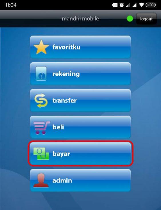 Cara Bayar Tokopedia Via Mandiri Virtual Account Di Mandiri Mobile Fajar Mukharom