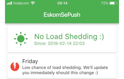 Founders of Eskom SePush plan to add additional services to provide municipal updates to citizens.