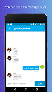 Direct messenger for Twitter- screenshot thumbnail