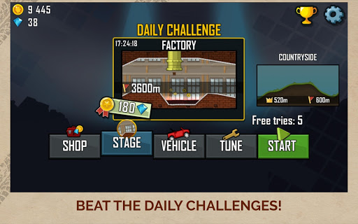Hill Climb Racing  screenshots 10