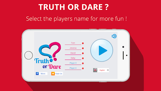 Truth or Dare 2017 ❤️ Couple or Friends Party Game- screenshot thumbnail