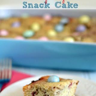 Raspberry Snack Cake