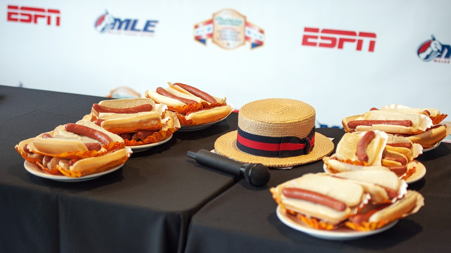 Watch 2013 Nathan's Hot Dog Eating Contest live