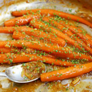 Roasted Baby Carrots with Marmalade