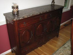Photo: Pennsylvania House Buffet/Sideboard to Match Table & Chairs