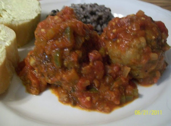 Cuban-style Meatballs With Black Beans And Rice Recipe