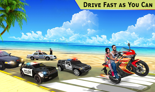 Theft Bike Drift Racing Screenshot