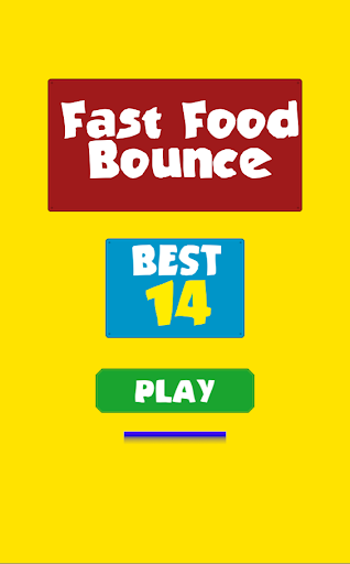 Fast Food Bounce Frenzy