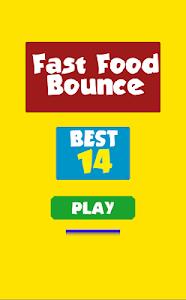 Fast Food Bounce Frenzy screenshot 0