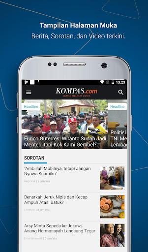Kompas.com: Berita Terkini, Akurat & Terpercaya 5.5.5 screenshots 1