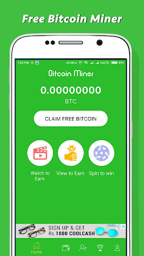 Download Free Bitcoin Miner - Earn Money Google Play