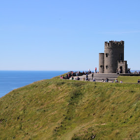 Tower at the Cliffs by Janet Smothers - Buildings & Architecture Statues & Monuments