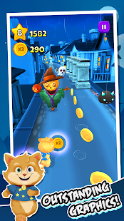 Toon Math: Endless Run and Math Games Screenshot