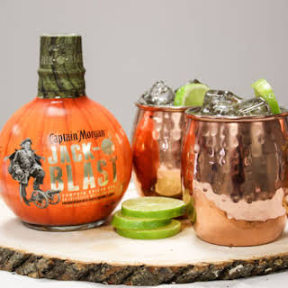Mutiny Mule - a Delicious Fall Drink.