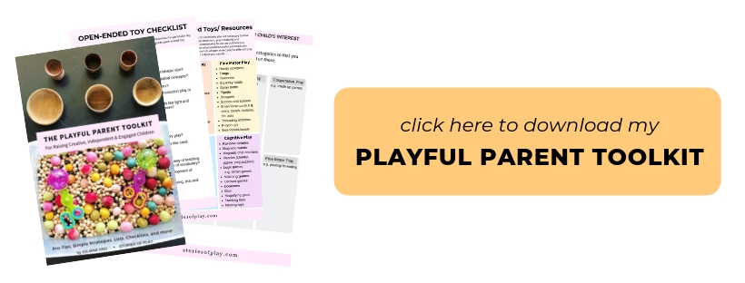 Independent Play Playful Parent Toolkit