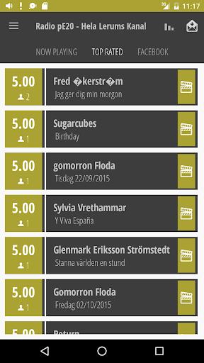 Radio pE20 - Hela Lerums Kanal  screenshots 4