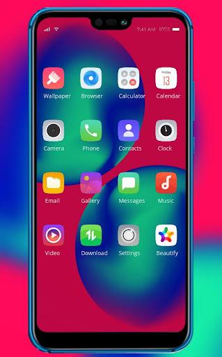 Magical color theme   Allview Soul X5 Pro launcher screenshot 2