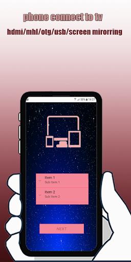 Phone Connector To TV Usb(hdmi/otg/mhl/wifi) screenshot 2