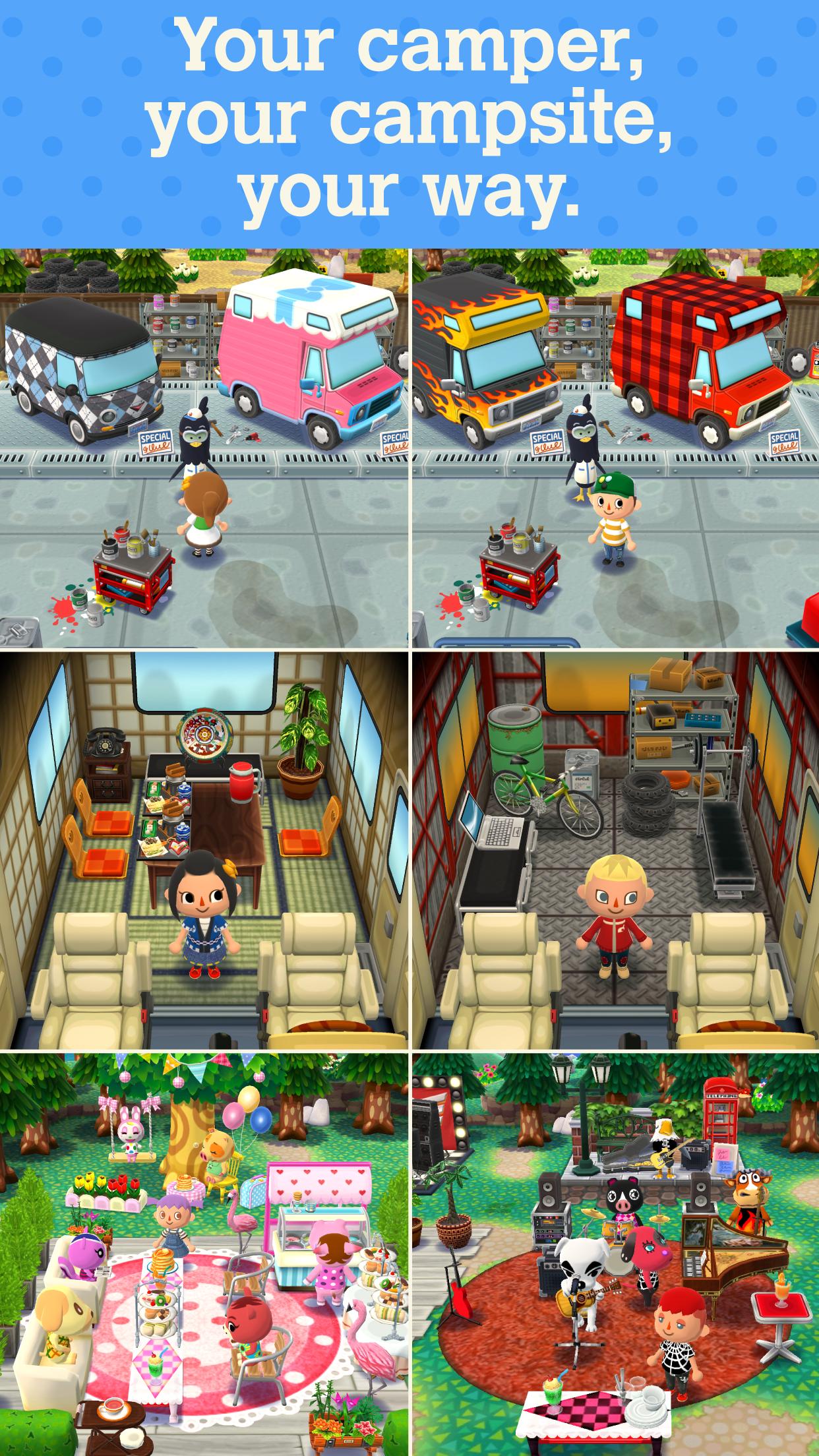Animal Crossing: Pocket Camp screenshot #4