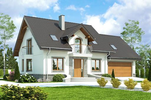 projekt Dom Dla Ciebie 3 z garażem 2-st. A1