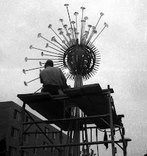 Photo: When the fountain art at WSU-Whitewater was constructed c1970