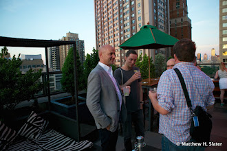 Photo: Stephen Grimm, project leader, looking dapper on the roof deck of the Empire Hotel.