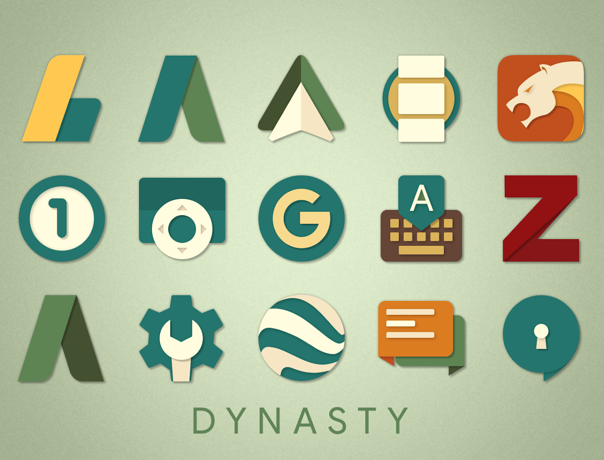 Dynasty Icon Pack- screenshot