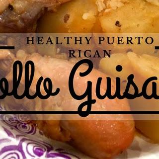 Puerto Rican Pollo Guisado