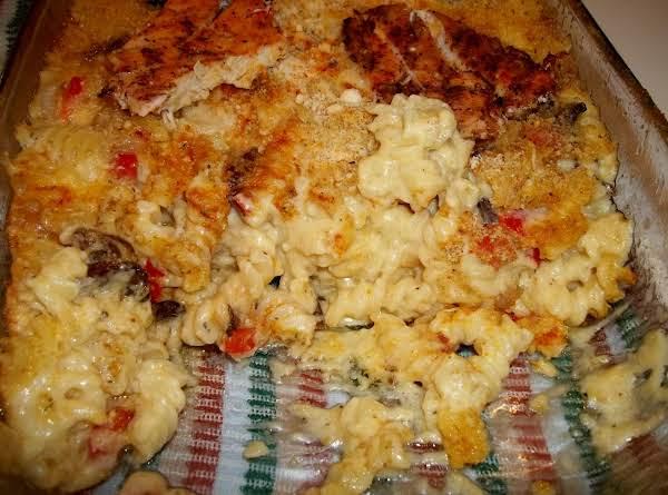 Cheese Pasta W/ Grilled Chicken