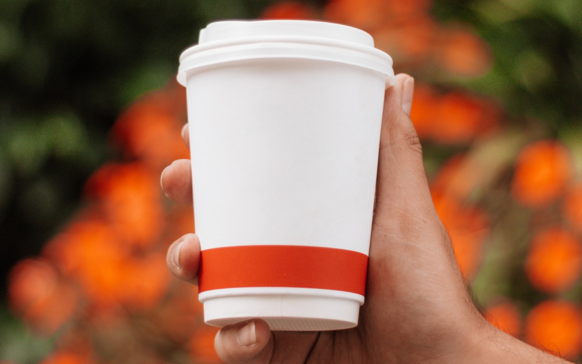 sustainable takeaway coffee
